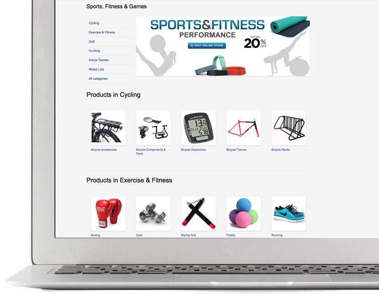 Sell fitness Items online
